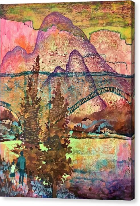 Mountain Bridge by James Huntley