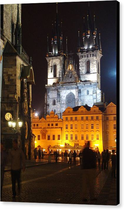 Old Town Square Prague by David ELLIOTT