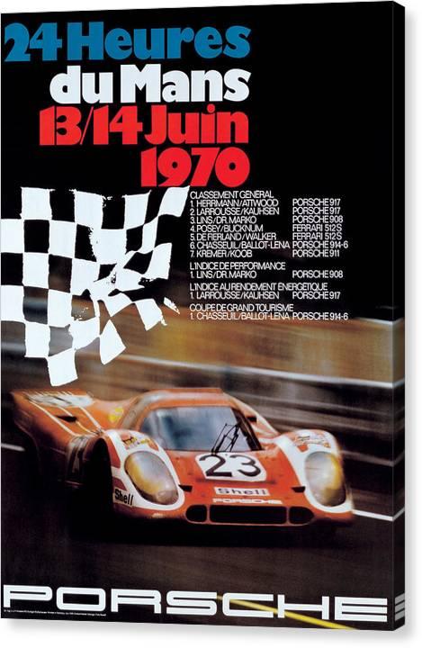 1970 24hr Le Mans by Georgia Fowler