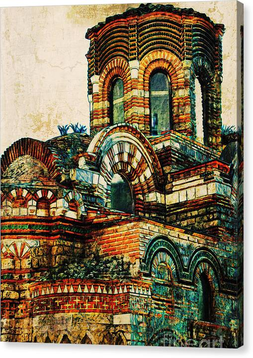 Limited Time Promotion: Bulgaria - Nessebar Stretched Canvas Print