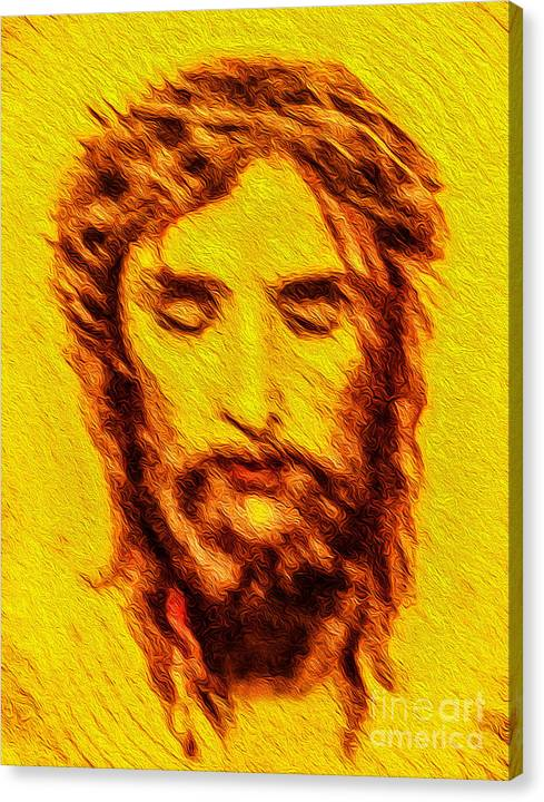 Limited Time Promotion: The Face Of A King Stretched Canvas Print