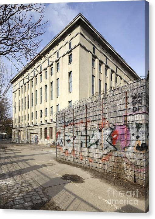 Limited Time Promotion: Berghain Stretched Canvas Print
