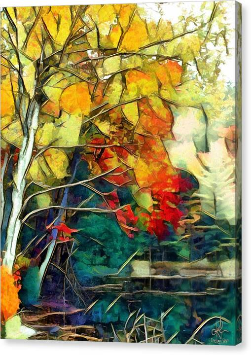 Limited Time Promotion: Autumn Stretched Canvas Print