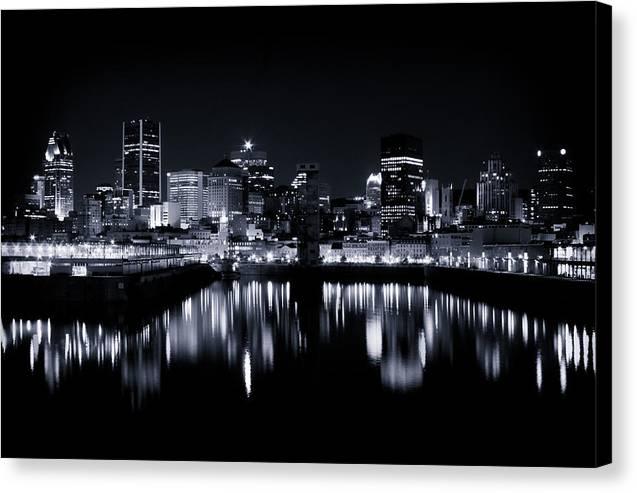 Montreal Night Lights 001 by Roger Branker