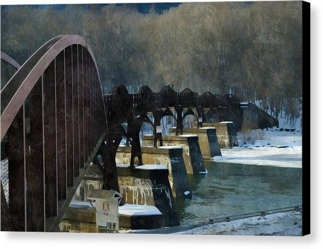 The Yough River Trail Bridge by Shelley Smith