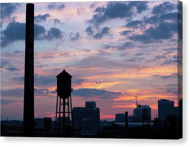 View from libby Hill canvas image makes the perfect richmond va gift