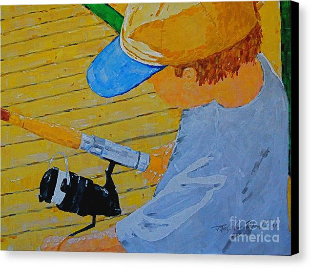 Children Canvas Print featuring the painting Great Tradition by Art Mantia