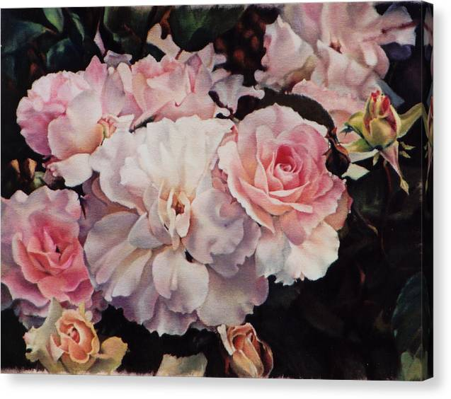 Old Roses by Marion  Hylton