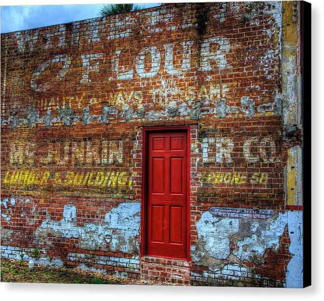 Wall Canvas Print featuring the photograph Wall by Bill Linhares