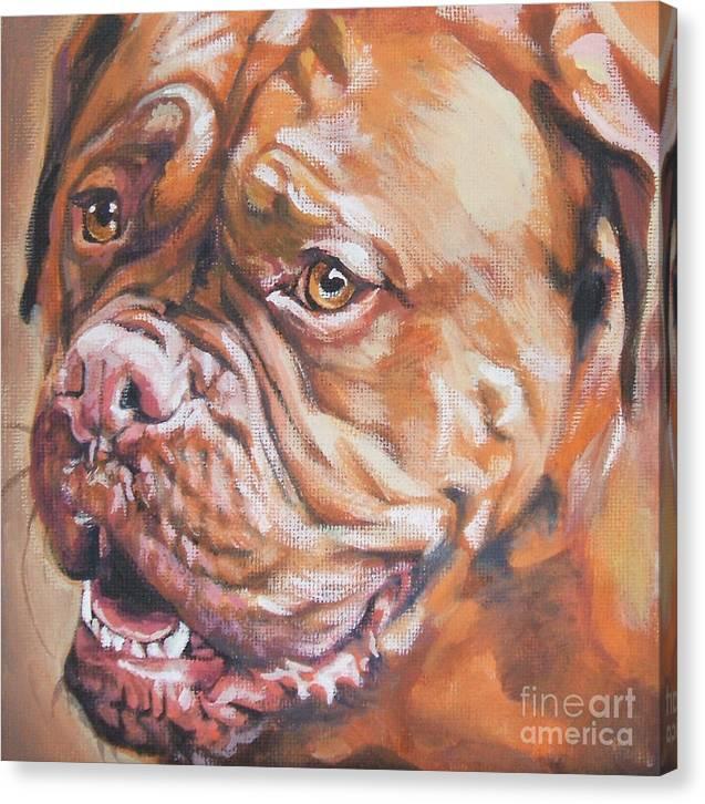 Dogue de Bordeaux by Lee Ann Shepard
