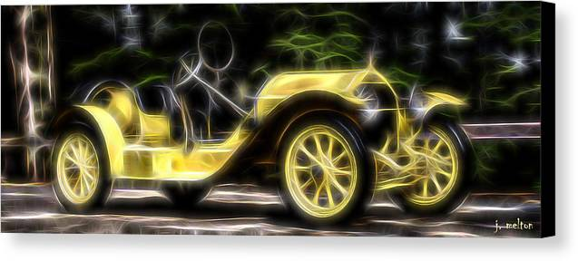 Stutz Canvas Print featuring the photograph Classic And Classy Stutz Bearcat by Jack Melton