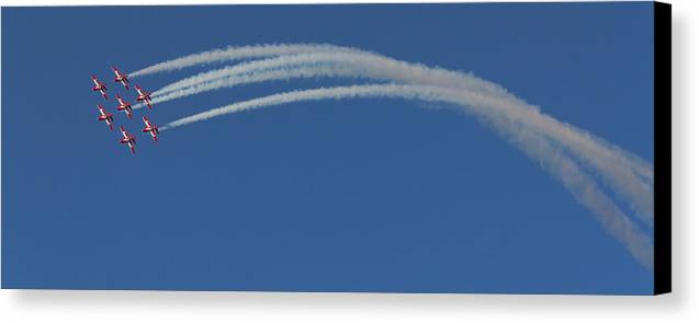 070412 Canvas Print featuring the photograph The Twist by Wayne Vedvig