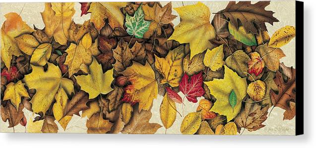 Jon Q Wright Canvas Print featuring the painting Autumn Splendor by JQ Licensing