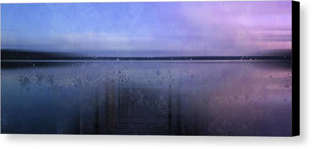Finland Canvas Print featuring the photograph Modern-art Finland Beautiful Nature by Melanie Viola