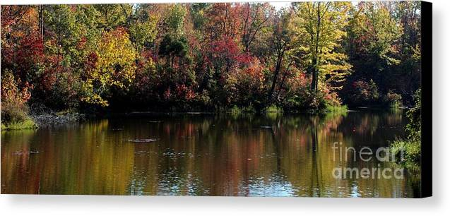 Nature Canvas Print featuring the photograph Sugar Ridge State Fish And Wildlife Area by Jack R Brock