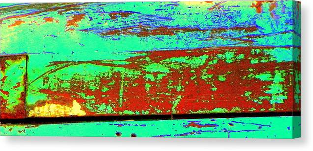 Rust Canvas Print featuring the photograph Nice Rust by Kathy Barney