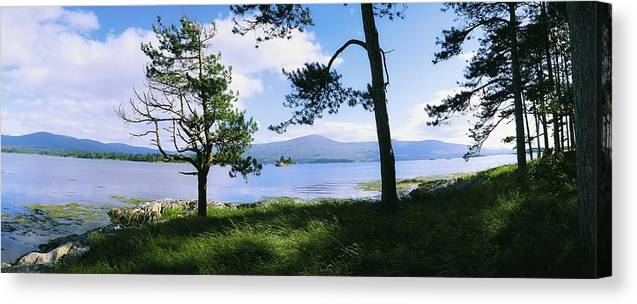 Co Kerry Canvas Print featuring the photograph Kenmare Bay, Dunkerron Islands, Co by The Irish Image Collection
