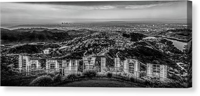Los Angeles Canvas Print featuring the photograph Old Hollywood Glamour by Az Jackson