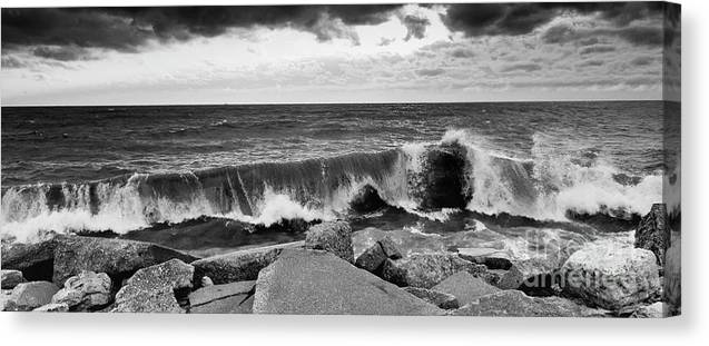 Samsung Canvas Print featuring the photograph Good Morning In Black And White by Ricky L Jones