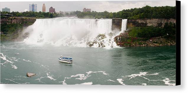 3scape Canvas Print featuring the photograph American Falls by Adam Romanowicz