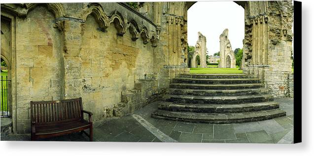 England Canvas Print featuring the photograph Lady Chapel With Grass by Jan W Faul