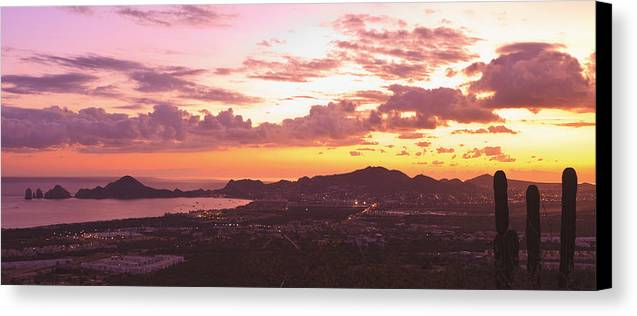 Baja California Canvas Print featuring the photograph View Of Cabo San Lucas And Tip Of Baja by Stuart Westmorland