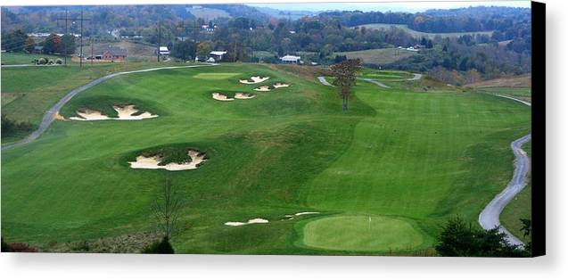 Virginia Canvas Print featuring the photograph Buena Vista Golf Course by Eddie Armstrong