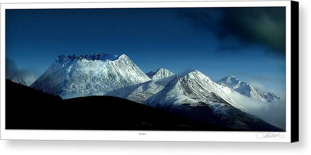Volcanos Canvas Print featuring the photograph The Yukon by Lar Matre