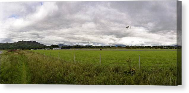 Raf Canvas Print featuring the photograph Raf Connel-oban by Jan W Faul