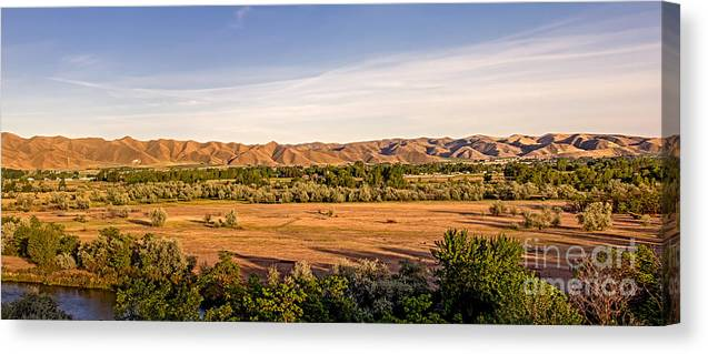 Landsacape Canvas Print featuring the photograph Upper Emmett Valley by Robert Bales