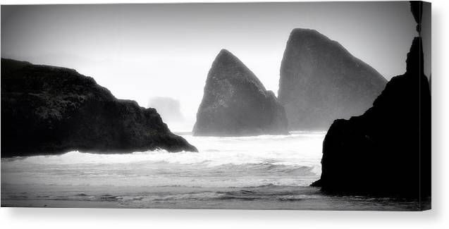 Oregon Canvas Print featuring the photograph Oregon Coast by Phillip Garcia