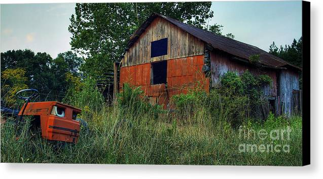 Virginia Canvas Print featuring the photograph Lawn Gone by Pete Hellmann