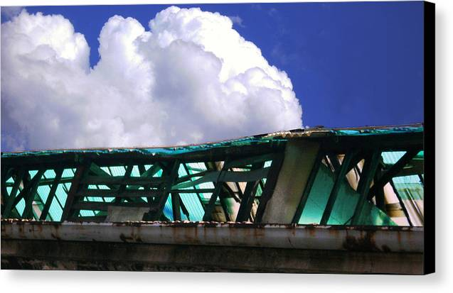 Cloud Canvas Print featuring the photograph Sky10 by Mikael Gambitt