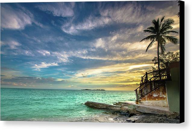 Bob Marley Canvas Print featuring the photograph Marley Resort by Corey O'Neil