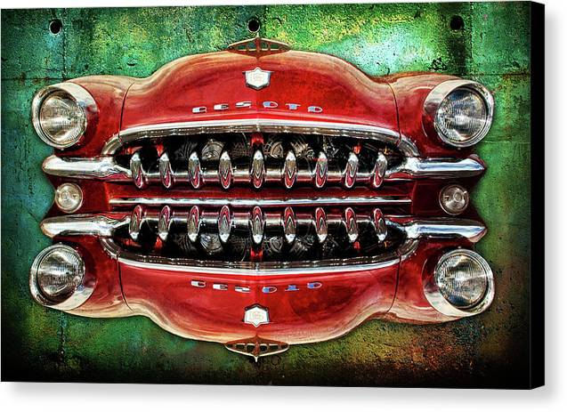 Grill Canvas Print featuring the digital art Growling Grill by Greg Sharpe