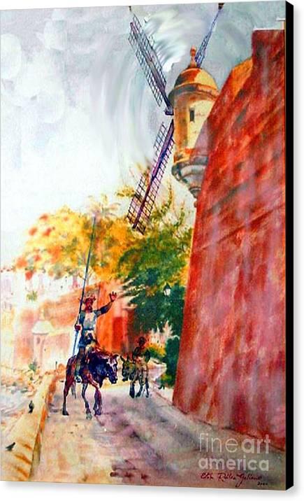 Don Quixote in San Juan by Estela Robles