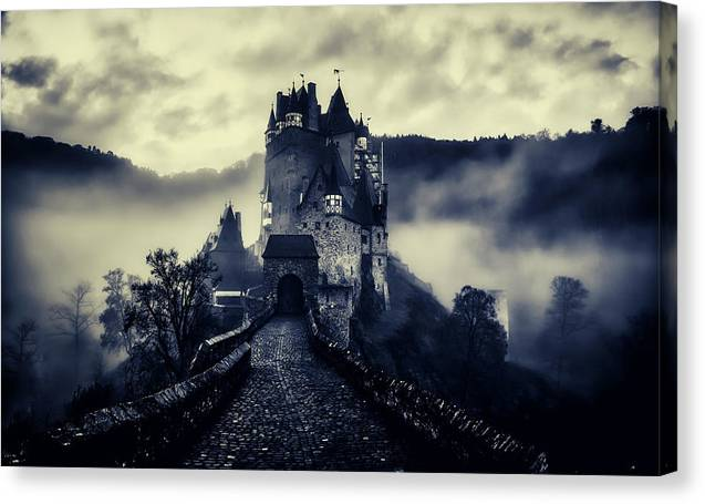 Castle In The Fog by Unsplash