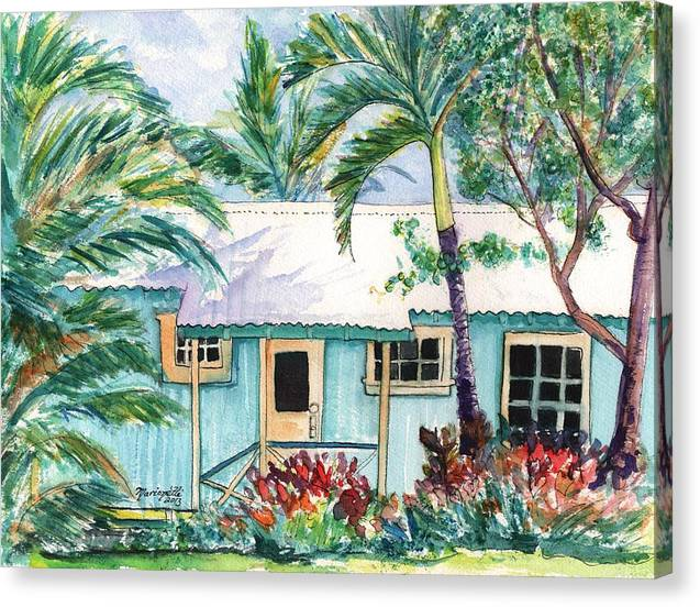 Tropical Vacation Cottage by Marionette Taboniar