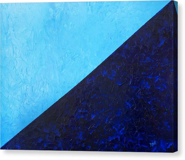 Impasto Canvas Print featuring the painting Water's Edge by JoAnn DePolo