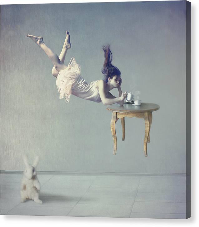 Floating Canvas Print featuring the photograph Still dreaming by Anka Zhuravleva