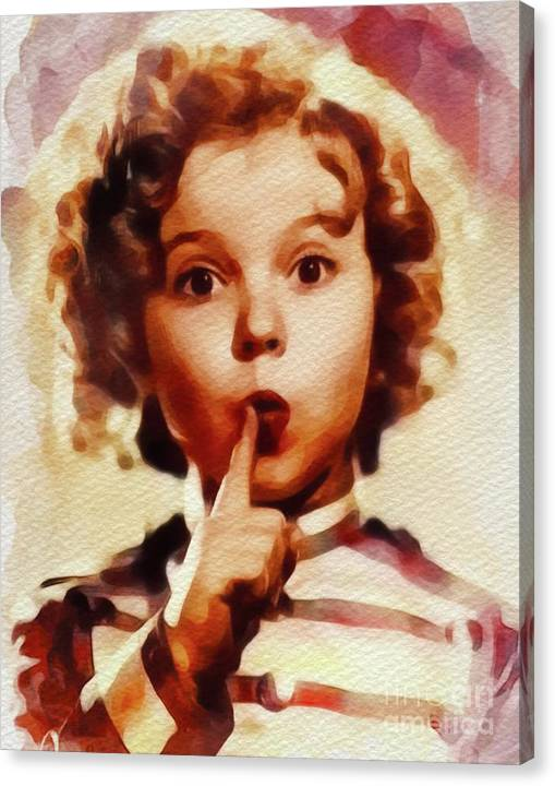 Shirley Temple, Vintage Movie Star by Esoterica Art Agency