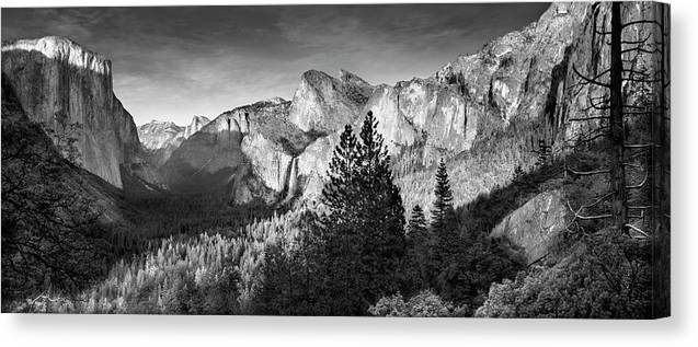 Scenics Canvas Print featuring the photograph Rocky Mountains Overlooking Rural by Chris Clor