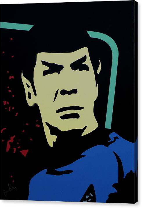 Retro Spock by Ian  King