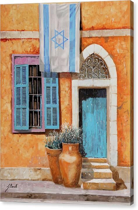 Azzurro Israele by Guido Borelli