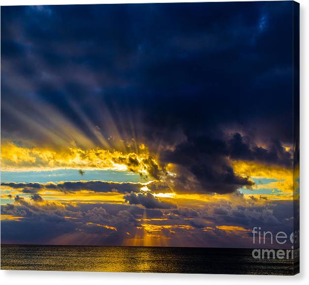 Limited Time Promotion: Sunset Stretched Canvas Print