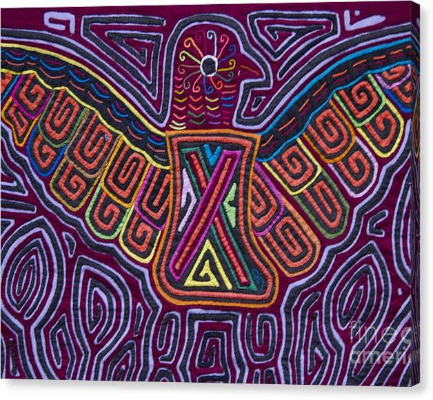Limited Time Promotion: Kuna Design - Mola Stretched Canvas Print