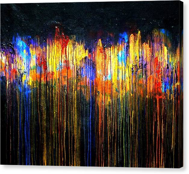 Limited Time Promotion: The Emotional Creation 22 Stretched Canvas Print