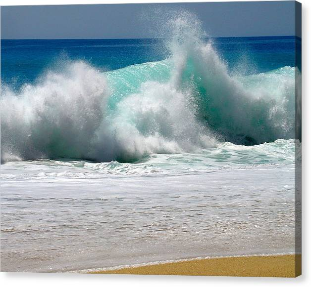 Limited Time Promotion: Wave Stretched Canvas Print