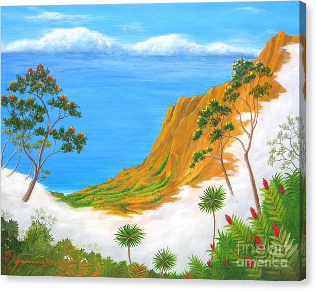 Limited Time Promotion: Kauai Hawaii Stretched Canvas Print