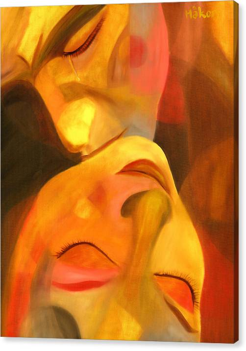 Limited Time Promotion: Romeo And Juliet Stretched Canvas Print